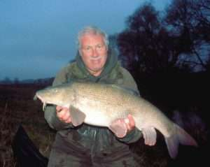 Incredibly fat barbel of 18lb 9ozs, well named as Stumpy!