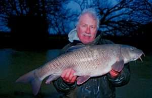 19lb 2oz Barbel known as Traveller